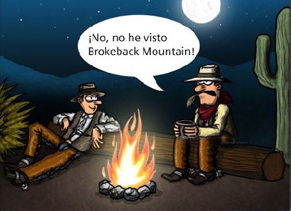 la pelicula brokeback mountain sutitulada como secreto en la montana