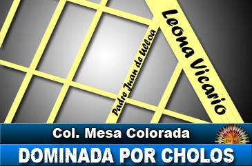 Colonia Mesa Colorada dominada por Cholos