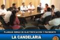 Planean obras de electrificación y Pavimento en zona de La Cande
