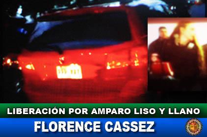 Liberaron a Florence Cassez