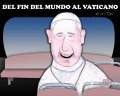 Cartoon: Papa del fin del mundo