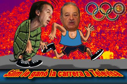 Juegos Olímpicos: Slim le ganó la carrera a Televisa
