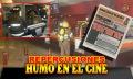 Repercusiones del conato de incendio en el cine