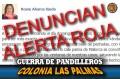 Vandalismo en colonia Las Palmas