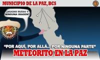 Meteorito en La Paz: no encuentran nada