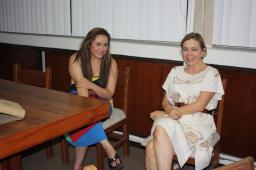 Leslie Green Castro y Patricia Mendoza