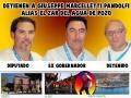 Detienen a Giusseppe Marcelletti Pandolfi alias el Zar del Agua