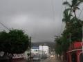 Muchas nubes pero poca lluvia en Cabo San Lucas