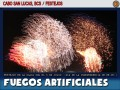 Fuegos artificiales en la Playa de Cabo San Lucas