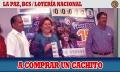 Lotería Nacional dedica a La Paz la promoción del sorteo