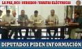 Incertidumbre sobre el subsidio: diputados piden información