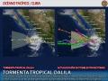 Clima en el Pacífico: Tormenta tropical Dalila