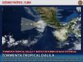 Clima en el Pacífico: Tormenta tropical Dalila y nuevo disturbio