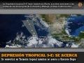 Depresión tropical 9-E se convertirá en Tormenta tropical mientr