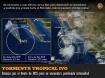Tormenta tropical IVO: Avanza por el Oeste de BCS, pero se encue