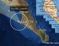 Tormenta tropical Juliette ya llegó a Puerto San Carlos