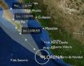 Tormenta tropical Lorena 05/09/2013