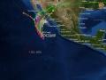 Tormenta tropical Octave 13/10/2013 / 18:00 hrs.