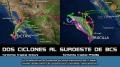 Dos ciclones / Clima en el Pacífico / Noticabos
