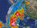 Imagen satelital: formación ciclónica y posibilidades de lluvias