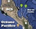 Sismos cerca de La Paz, BCS