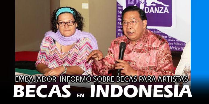 Becas en Indonesia para artistas sudcalifornianos