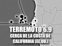 Terremoto Sismo cerca de California EEUU