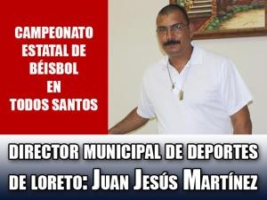 Director Municipal de Deportes de Loreto