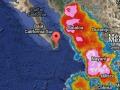 Imagen satelital 22:00 hrs 29/ago/2014