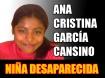 Niña Desaparecida Ana Cristina García Cansino