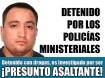 Detenido con drogas en La Paz resultó ser un presunto asaltante