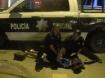 Policía detiene a un presunto ladrón