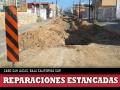 Calle Zaragoza sin reparaciones en Cabo San Lucas