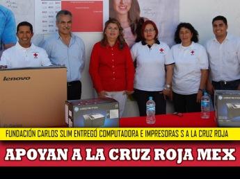 Fundación Carlos Slim apoya a la Cruz Roja Mexicana
