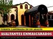 Turistas enmascarados asaltan restaurante y lastiman a turista