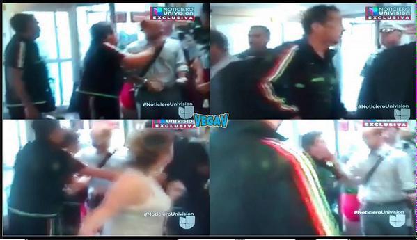 Fotos segundos después de la agresión del Piojo a Martinoli