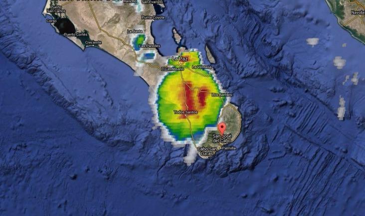 Imagen satelital 16:30 hrs.