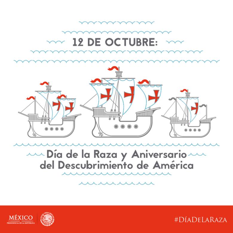 Imagen enviada hoy, 12 de Octubre, por la Presidencia de la República Mexicana
