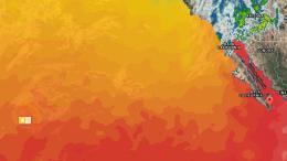 Temperatura del Océano: Olaf está entrando en aguas frías