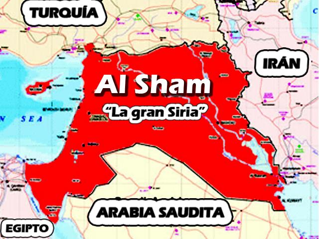 Al Sham o la gran Siria