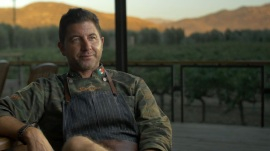 Chef Miguel Ángel Guerrero en la película Baja Taste