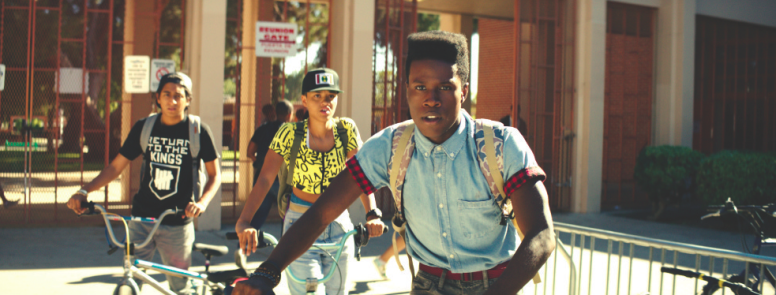 Dope (Premier en México) Dir. Rick Famuyiwa (The Wood, Brown Sugar, Talk to Me) Reparto: Shameik Moore, Tony Revolori, Kiersey Clemons Banda sonora de Pharrell Williams Estreno mundial en Sundance.