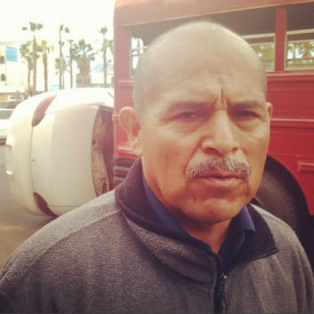 Comandante de Bomberos de Cabo San Lucas, Juan Carbajal