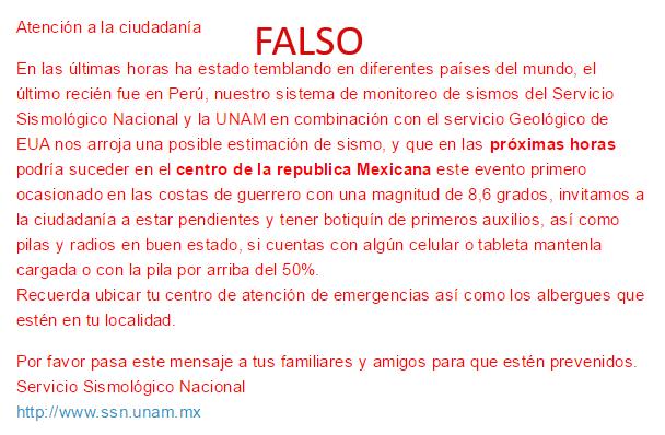 sismo-falso